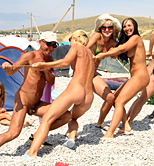 Pity, that Pure nudist family fun really