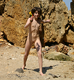 PURENUDISM.COM - Nudist Motherly Love By the Dead Sea Picture